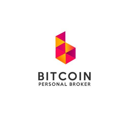 Logo design for a Bitcoin broker business
