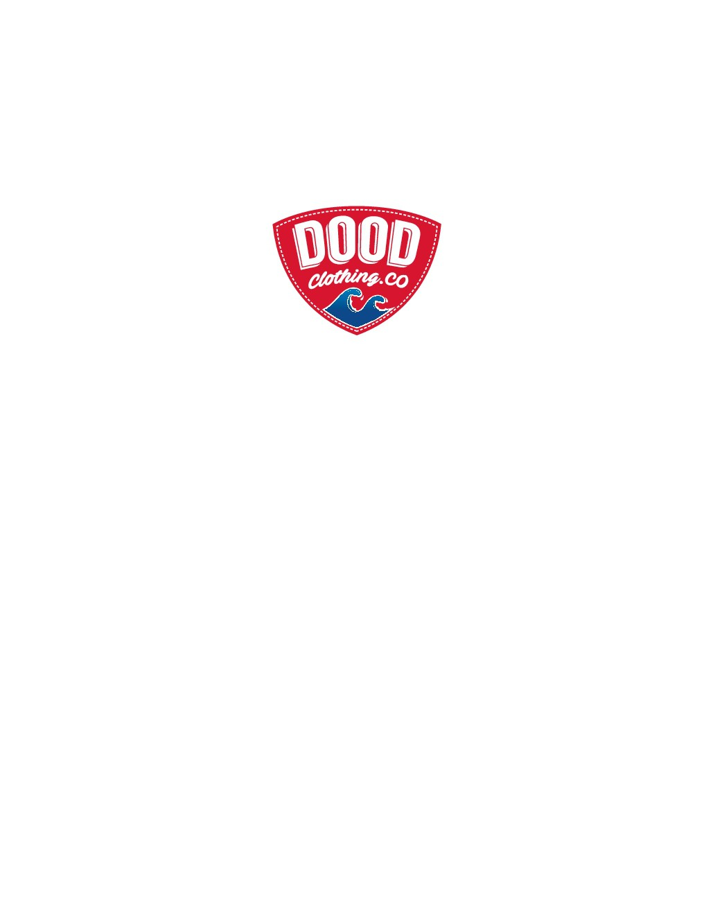 Create a clean but catchy logo for a T-shirt Company, Dood Clothing Co.