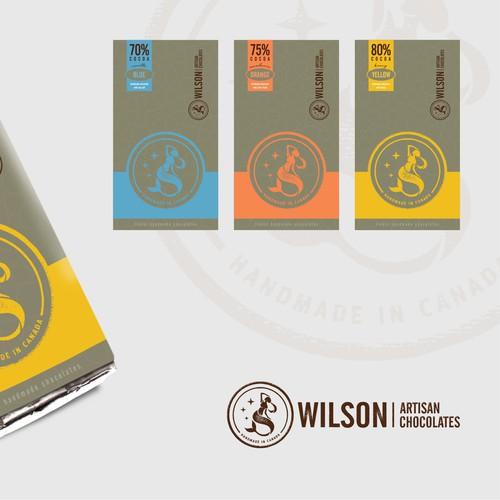 Wilson Artisan Chocolates - Branding Project