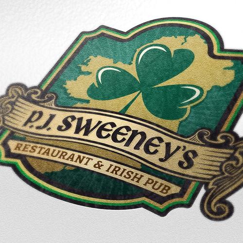Irish Pub Logo Design