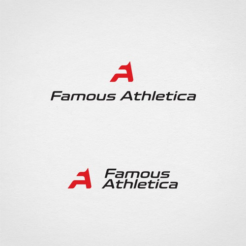 Logo for athletic apparel company