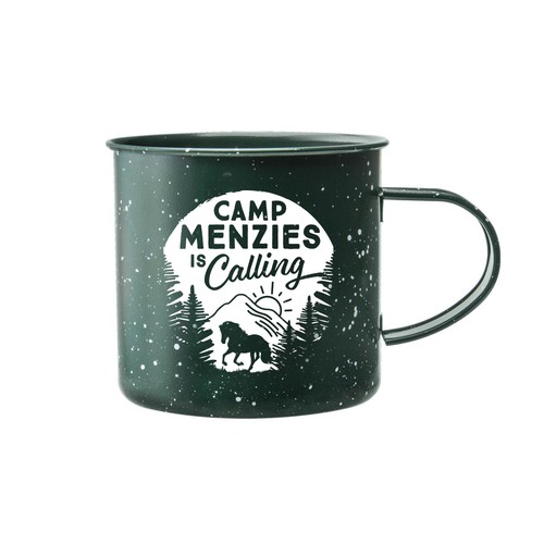 Camp Menzies Mug Design