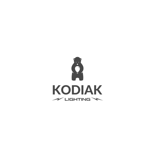 "Logo concept for ""Kodiak Lighting"""