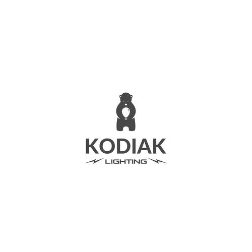 """Logo concept for """"Kodiak Lighting"""""""