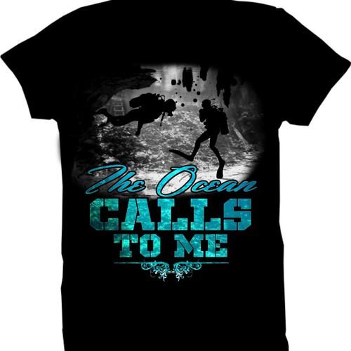 The Ocean - Scuba Shirt
