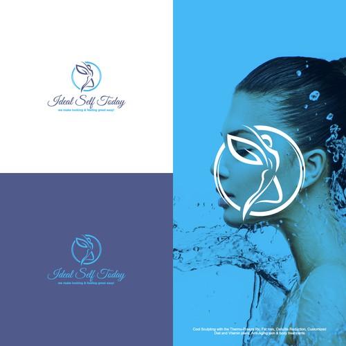 Feminine Logo For Ideal Self Today