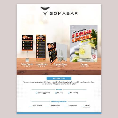 Somabar Flyer