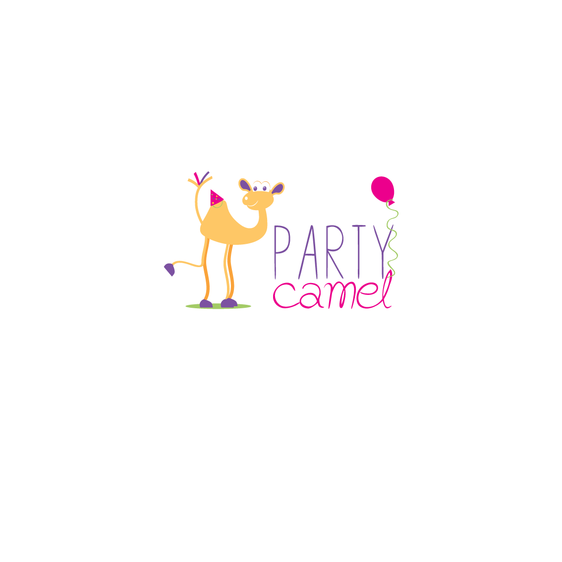 logo for party camel