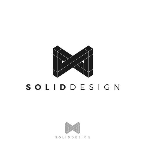 Geometric Logo for a Design Company