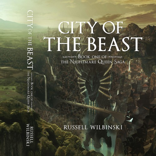 Cover Illustration and Design for City of the Beast