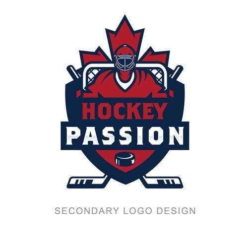 Logo for Hockey Passion - hockey goalie school