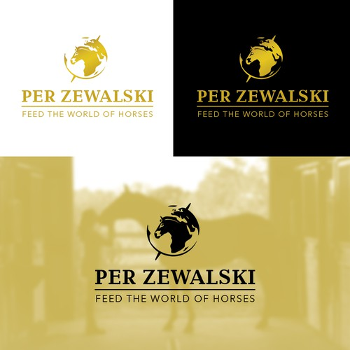 Worldwide brand for equine feed company