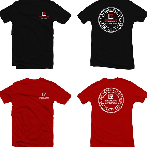 RED LINE COMPANY SHIRT