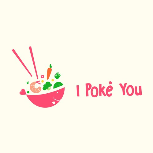 I Poke You Logo Design