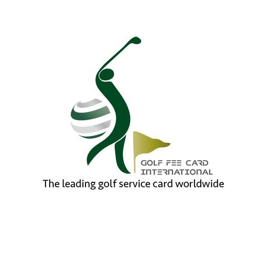 Logo for a golf club