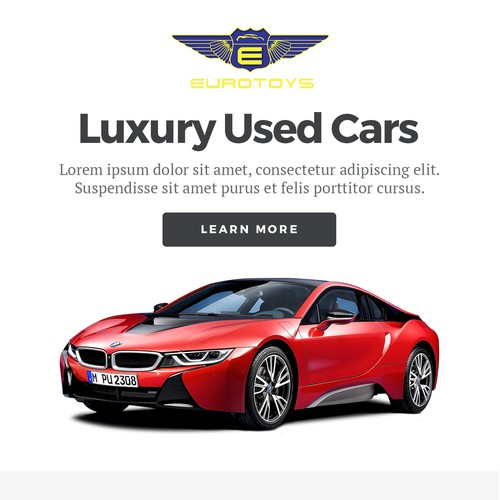 Email Design for Luxury Used Cars