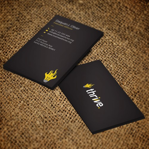 Business Card for teamwethrive.