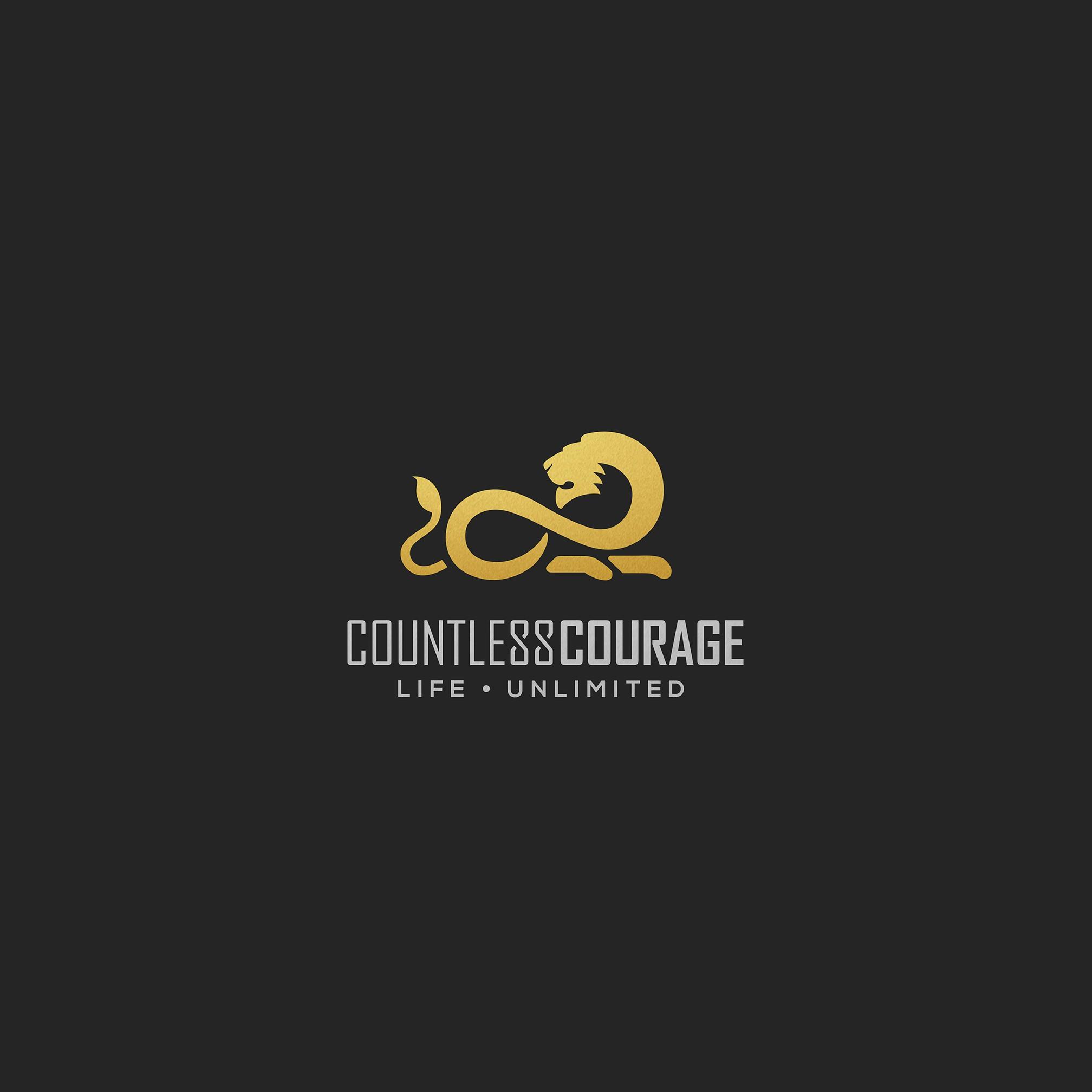 Brave enough? Countless Courage needs a logo.