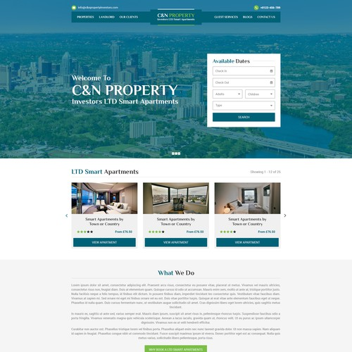 C&N Property Investors LTD Smart Apartments