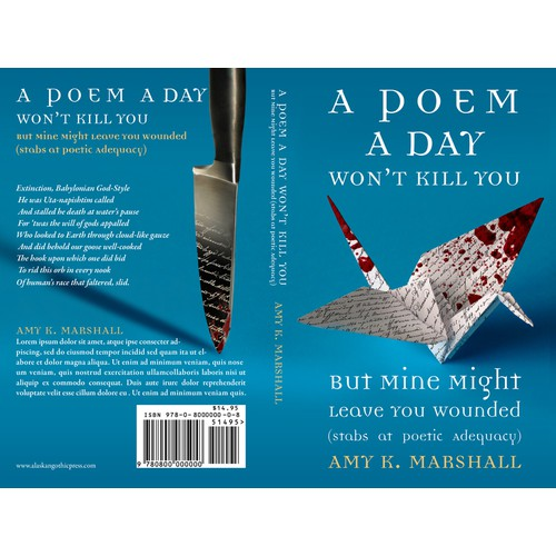 Tongue-in-Cheek Poetry Book Cover