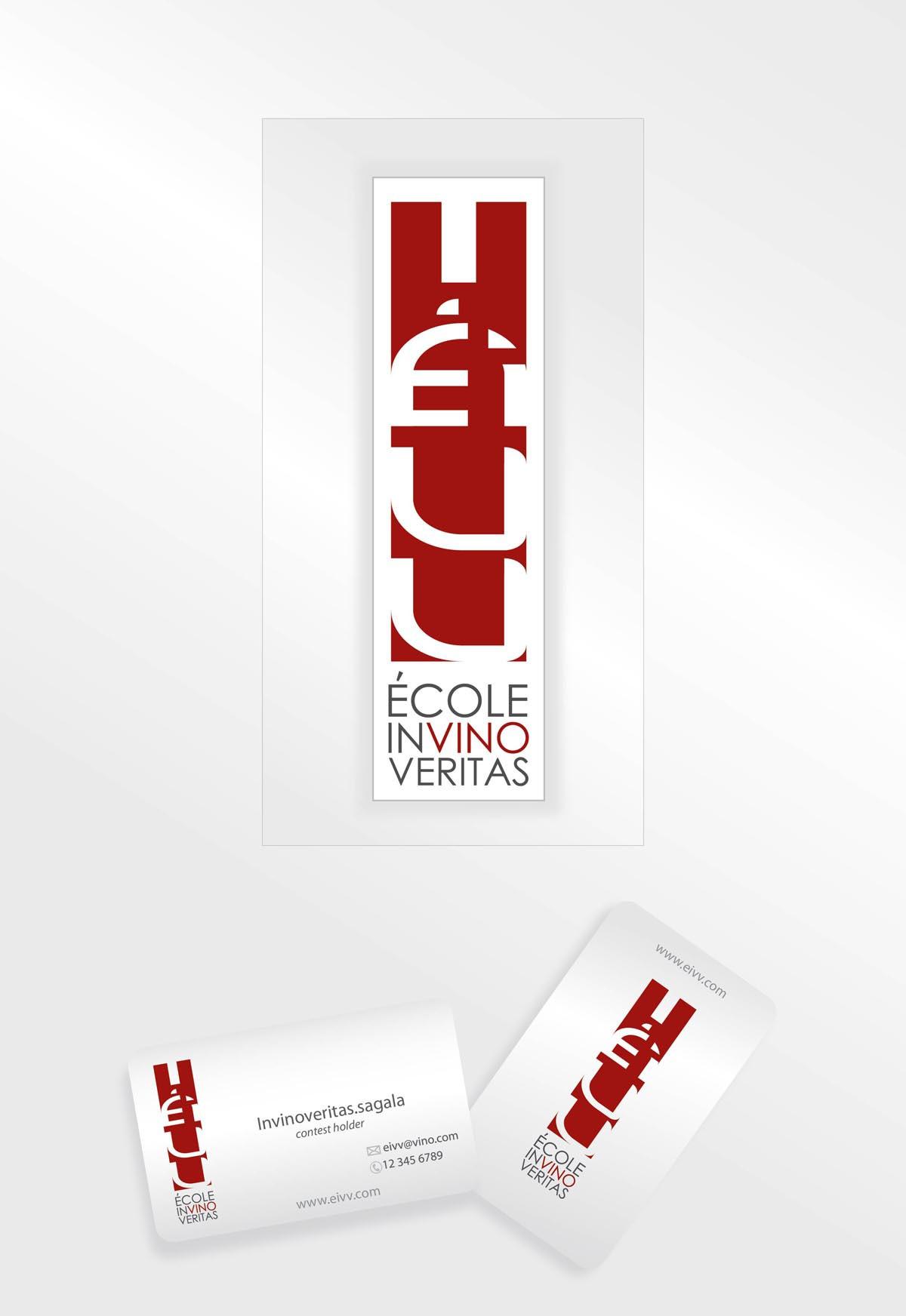logo for École in Vino Veritas