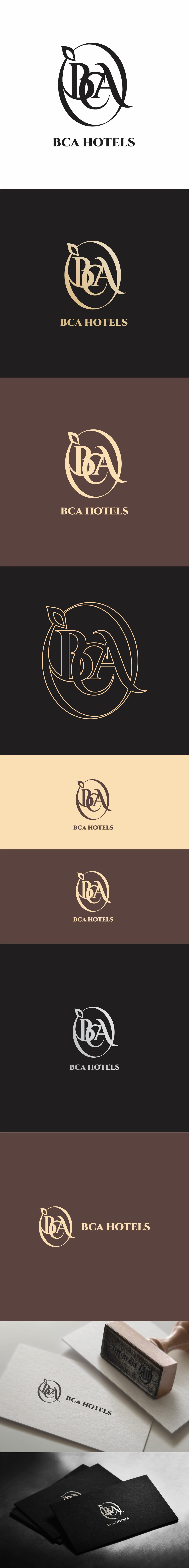 Design a modern logo which will be visible to top hotel companies including Marriott and Hilton