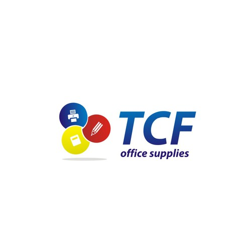 Create the next logo for TCF Office Supplies