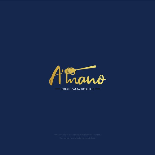 A'mano Restaurant Logo