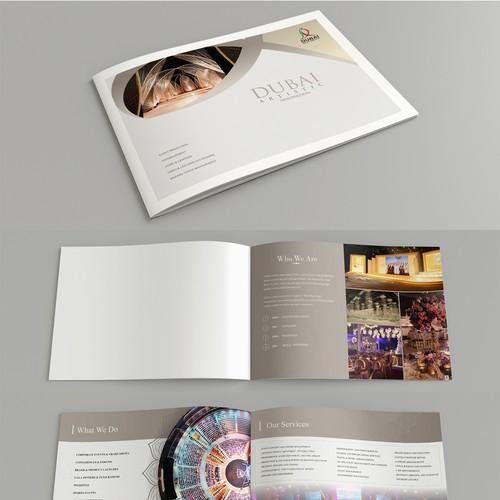 Artistic Media Brochure