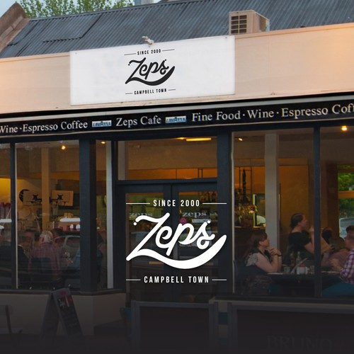 Zeps | Food and drink logo