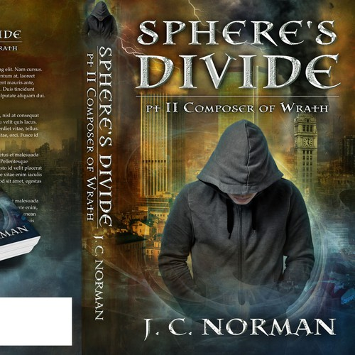 Sphere's Divide book cover design