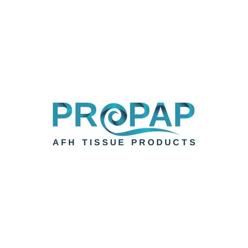 Logo for tissue company