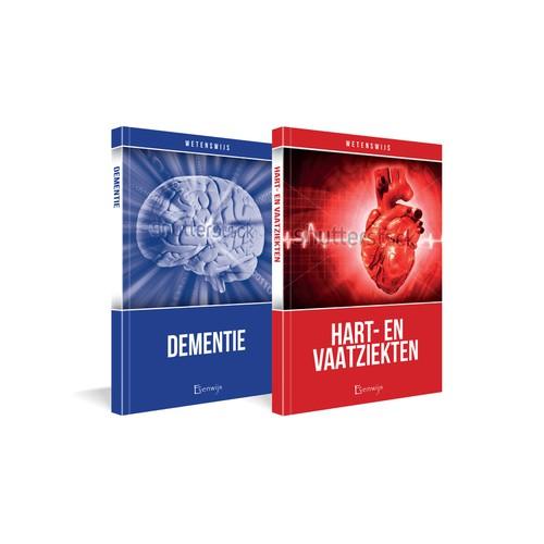 Ontwerp een boekomslag voor een serie inspirerende gezondheidsboeken