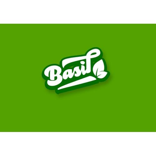Create a stunning logo for Basil, a restaurant payment app