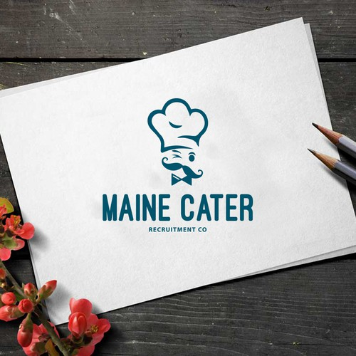 Whimsical logo for a chef  :)
