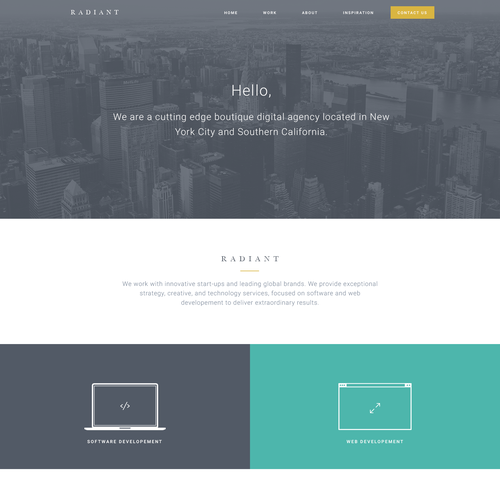 Clean minimal agency concept