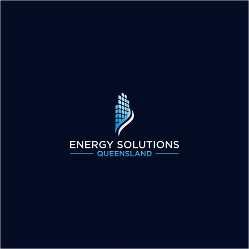 Logo for energy solution queensland.