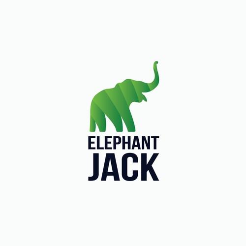 Elephant Jack logo concept