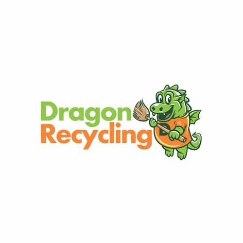Logo design for Dragon Recycling