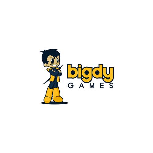 logo concept for Bigdy Games