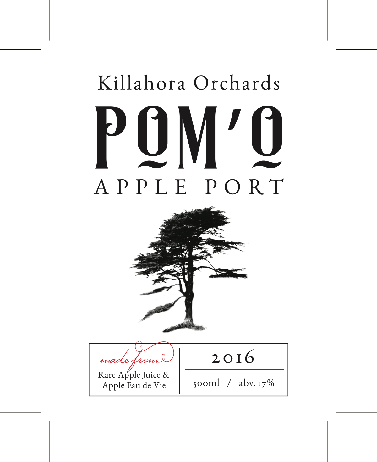 POrt label and Cider label update