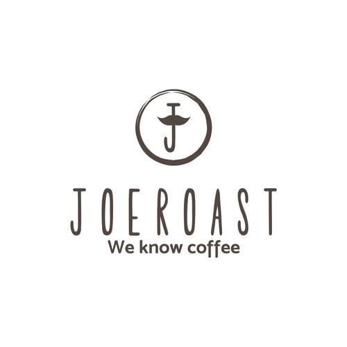 Design a hipster logo for JoeRoast.com
