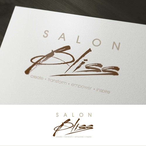 Create an eye catching logo for Salon Bliss, an upscale boutique style salon!