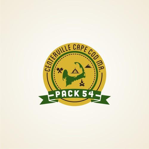 logo for Cub Scout Pack 54 Centerville Cape Cod MA