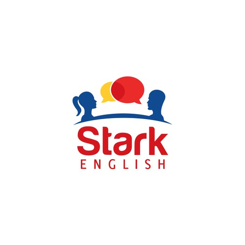 Create an international logo for an English Academy