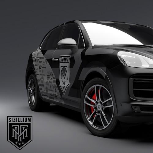 Porsche Cayenne Livery