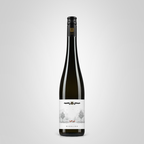 Riesling wine label