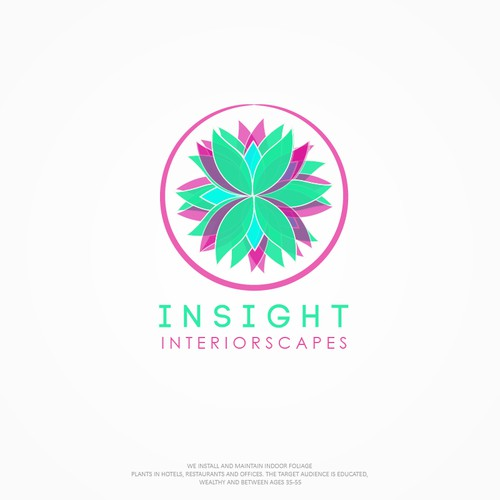 Interiorscapes logo for INSIGHT