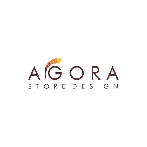 Agora Store Design logo