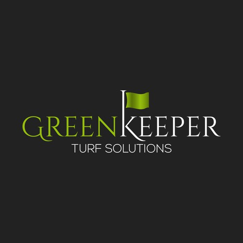 Logo Design for GreenKeeper Turf Solutions